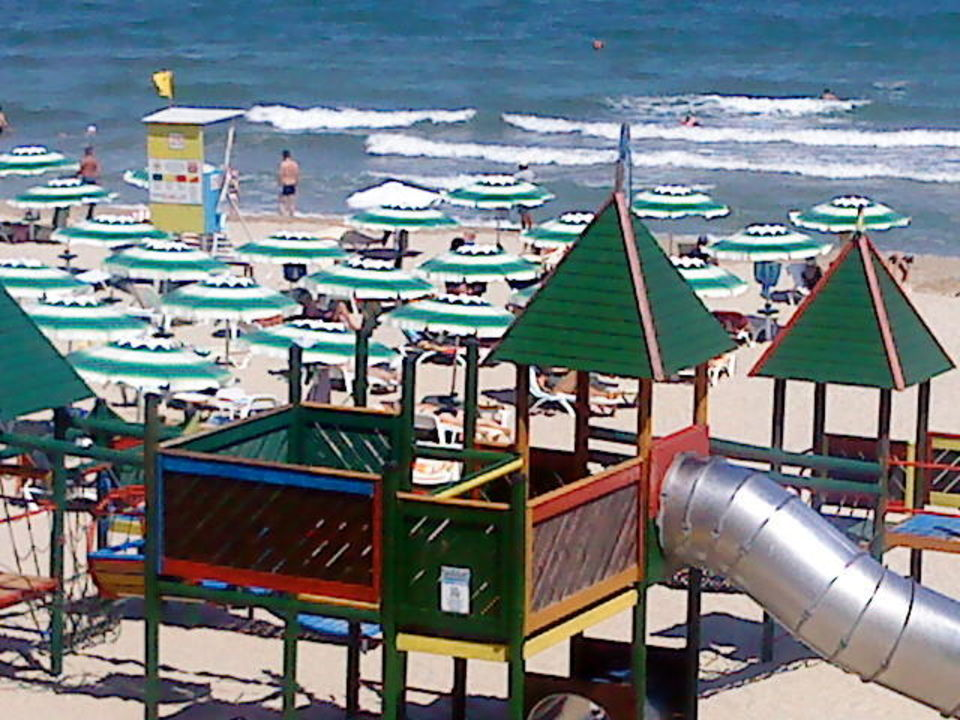 Hotel Gergana Beach In Albena
