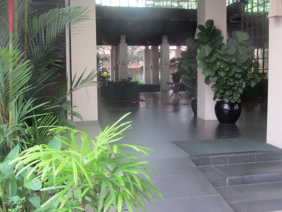 Haupteingang Hotel The Sentosa Resort Spa Singap Hotel The
