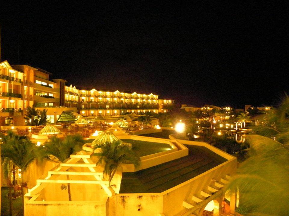 Las Antillas bei Nacht Hotel Melia Las Antillas