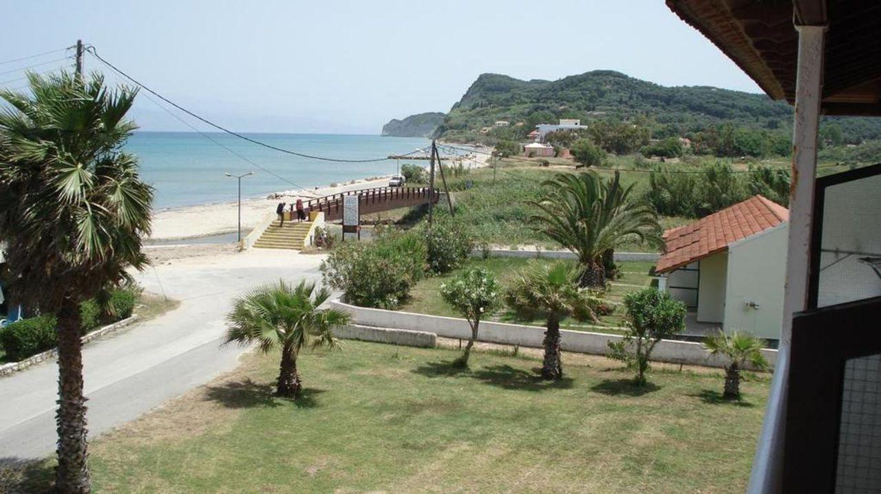 Blick vom Balkon  Hotel Beach Star