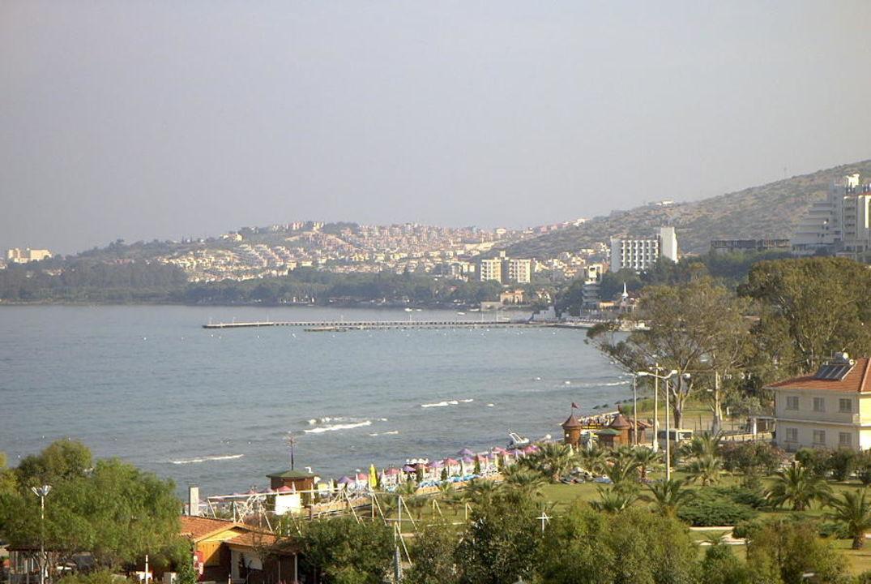 Blick vom Balkon Hotel Ephesia