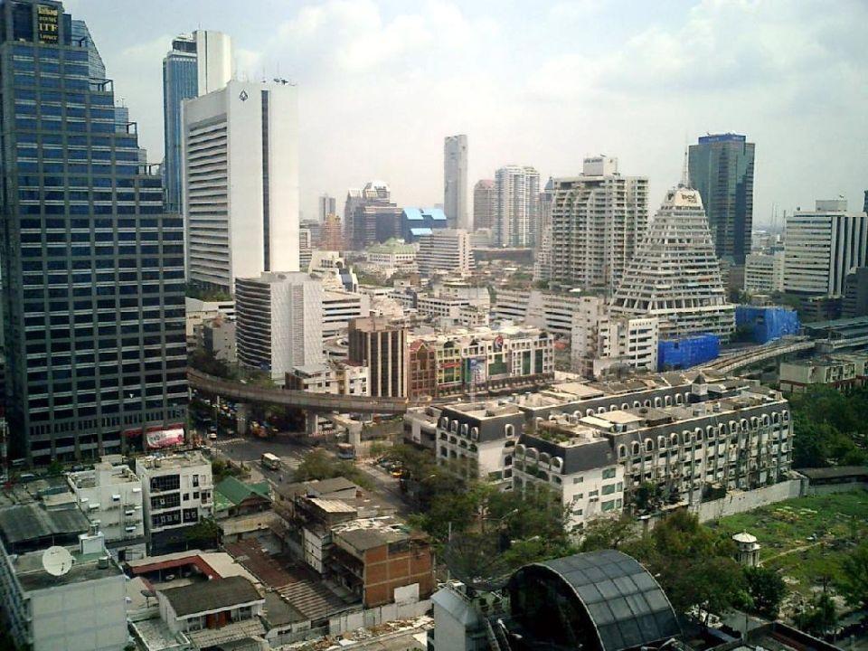 Der Ausblick Hotel Pullman Bangkok Hotel G