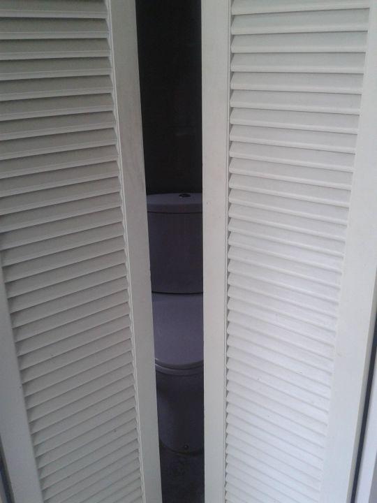 klapptür zum wc/dusche