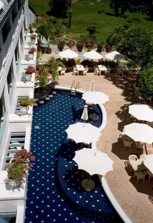 Blick vom Balkon 2 Hotel Andaman Seaview