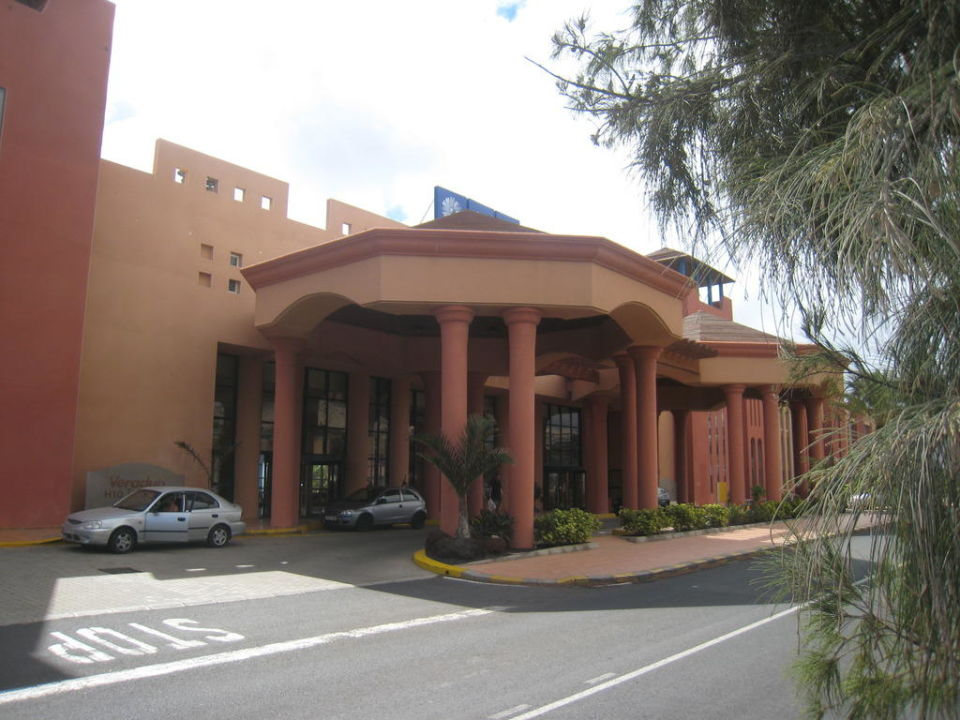 Eingang  Hotel H10 Tindaya