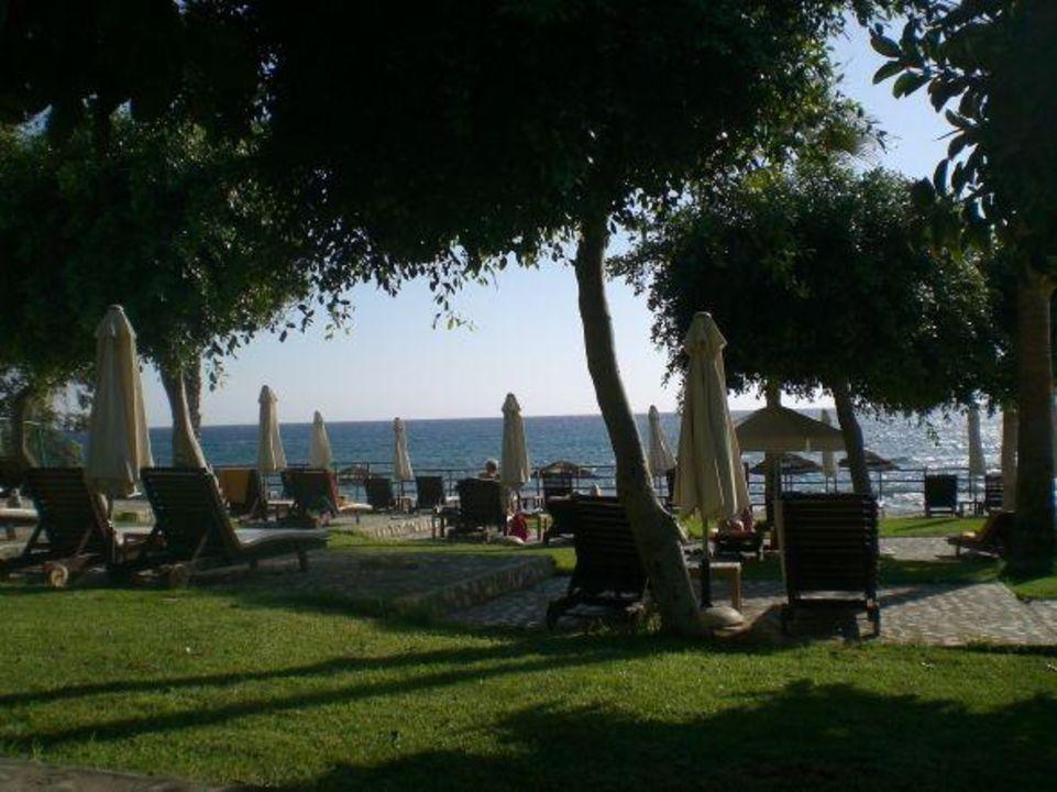 Gartenanlage Elias Beach Hotel