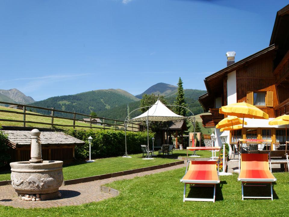 Gartenanlage Hotel Oberlechner