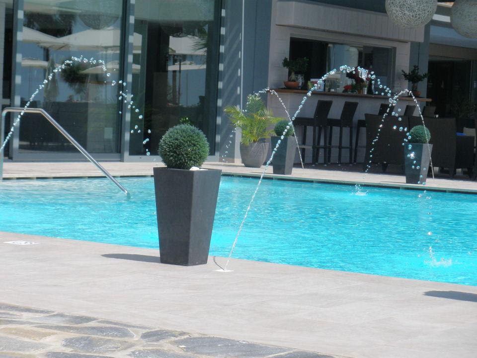 AuBergewohnlich Schöne Wasserspiele Am Pool Aparthotel Marins Playa