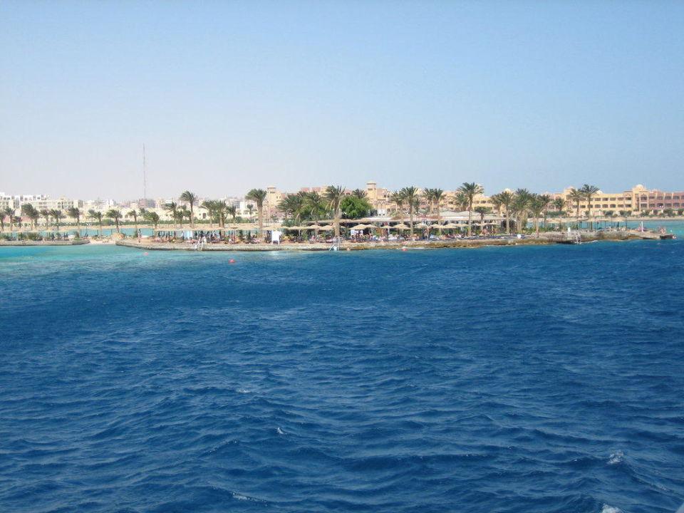 Die Marina vom Meer aus gesehen Arabia Azur  Resort
