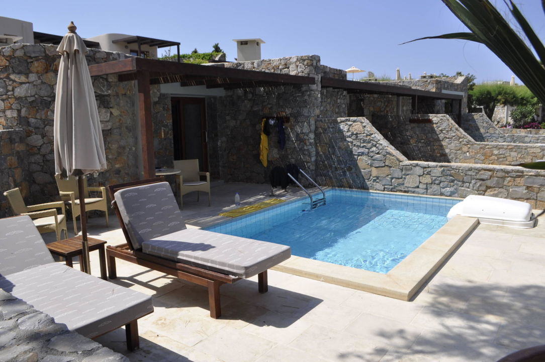bungalow mit privatpool ikaros beach luxury resort spa malia holidaycheck kreta. Black Bedroom Furniture Sets. Home Design Ideas