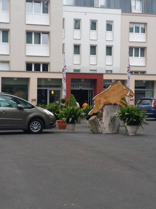 Zufahrt Parkplatz Eingang Hotel Ebertor Boppard Holidaycheck