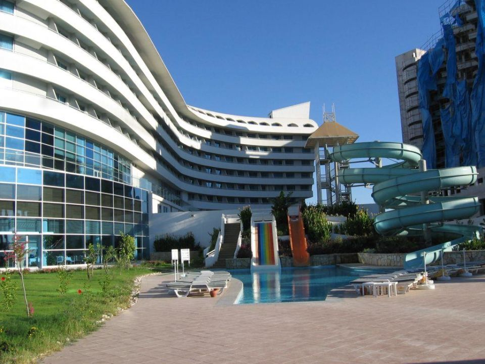 Rutschenbereich Hotel Concorde De Luxe Resort