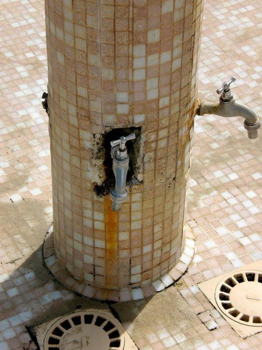 Aussendusche des Pools TUI BLUE Palm Beach Palace Djerba - Adults only