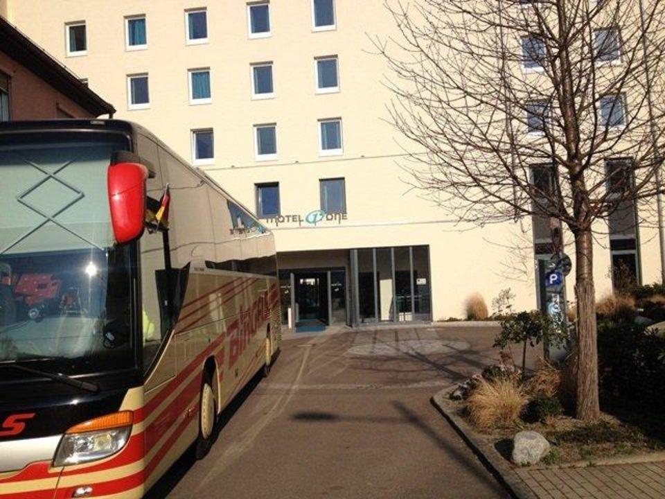 Hintereingang Motel One Stuttgart