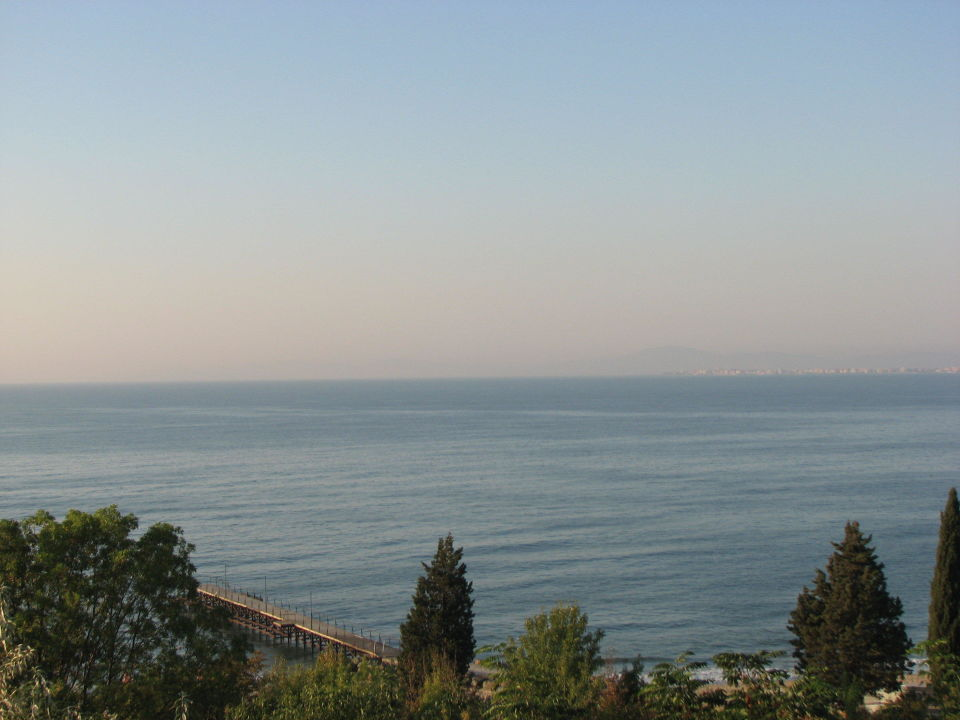 Widok z balkonu Apartments Dream Holiday