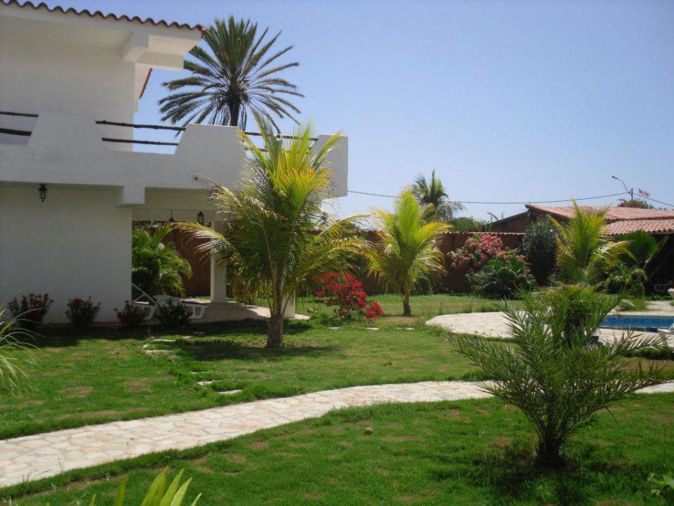 Garten Ferienhaus Villa Cocuyo Apartments