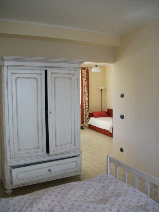 Schlafzimmer Apartments Corte Valesana