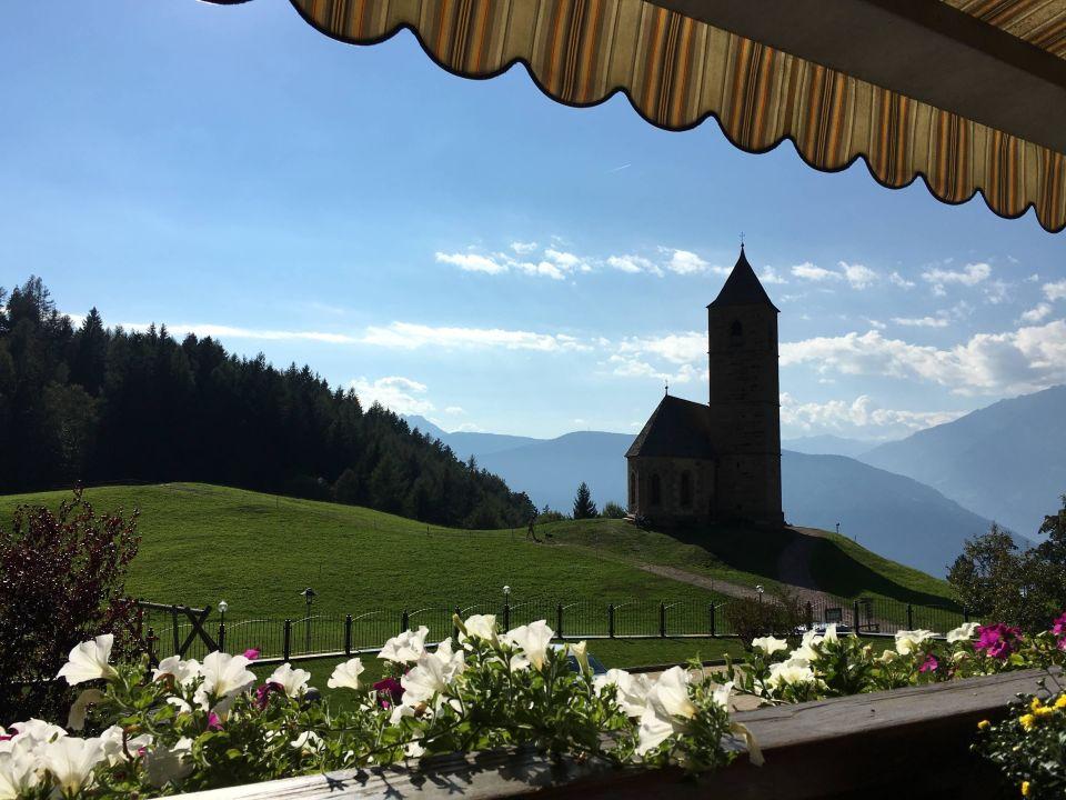 Ausblick vom Balkon Hotel Sulfner Hotel Sulfner