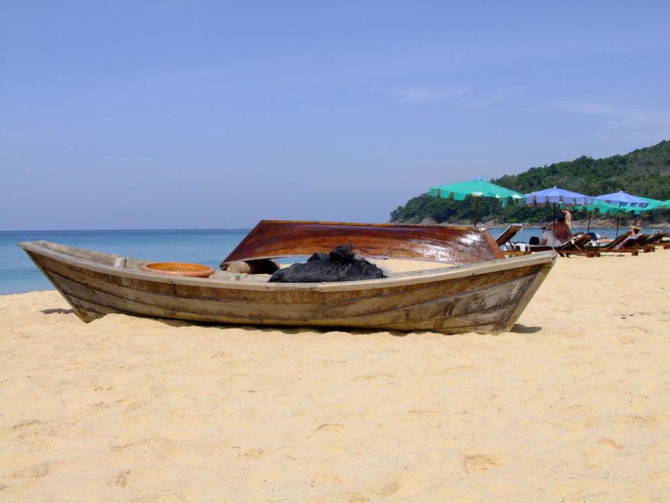 Nai Thon Beach, Südende Hotel Naithonburi Beach Resort