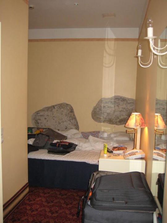 Blick aufs Bett Rija Old Town Hotel