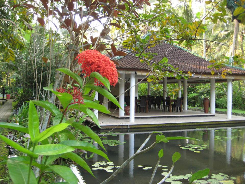 Open Air Speisesaal Jiwa Damai Jiwa Damai Retreat Bali