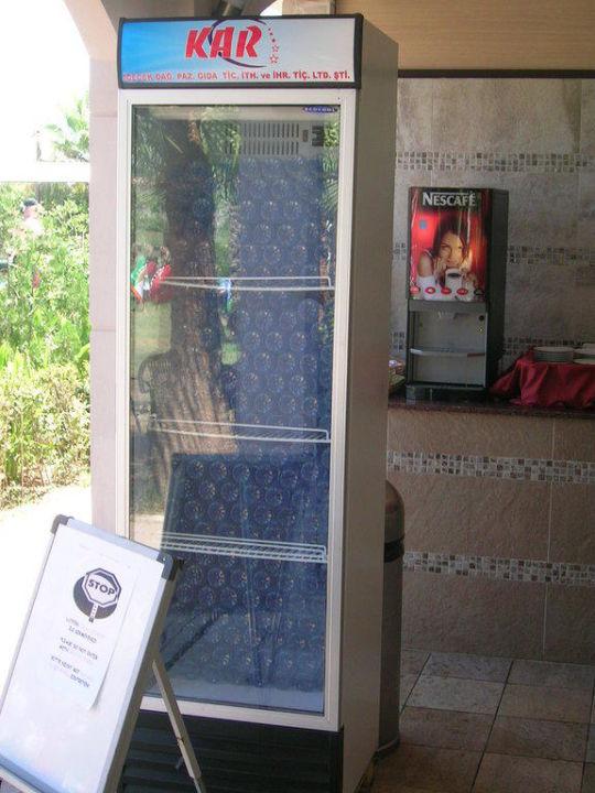Der Wasser Kuhlschrank Primasol Hane Family Resort Evrenseki
