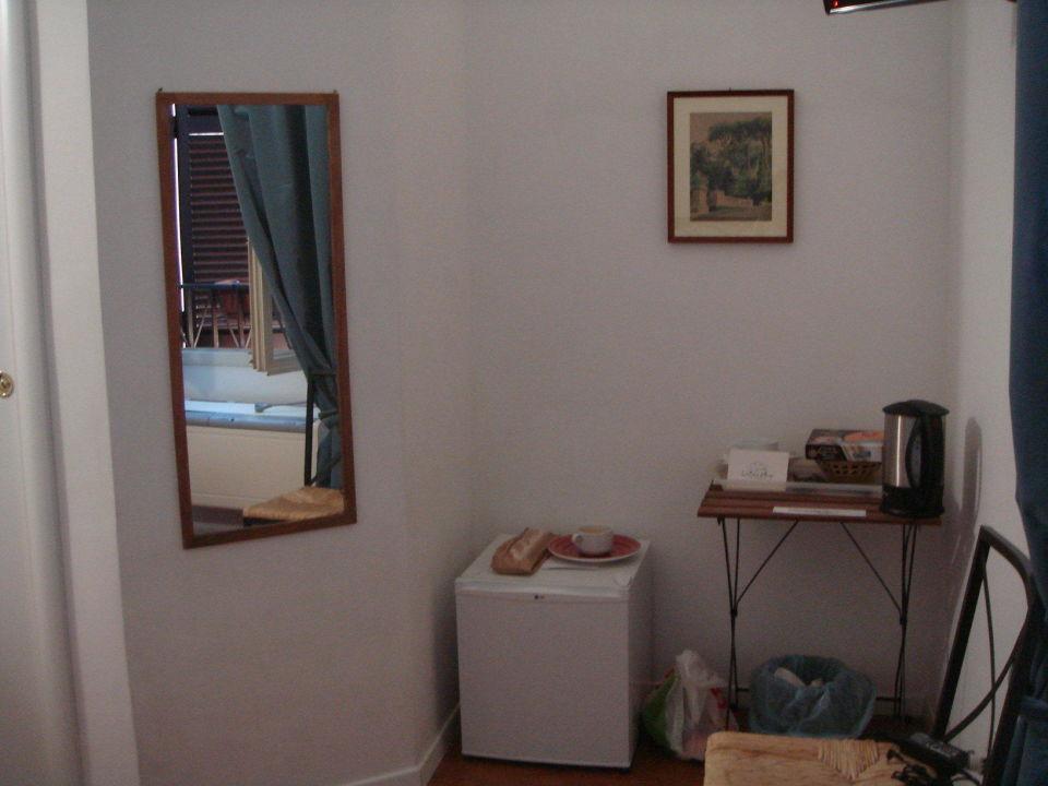 Уголок для чая+кофе Bed & Breakfast La Casa Di Amy