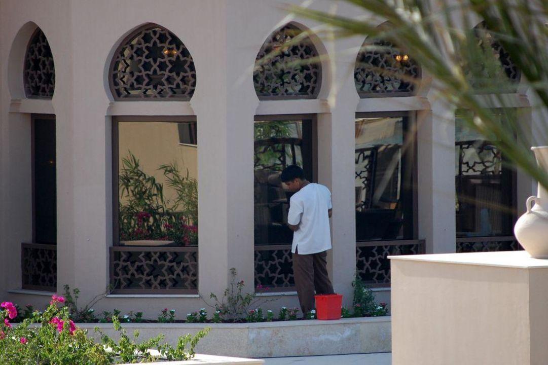 Sauberkeit wird sehr groß geschrieben Miramar Al Aqah Beach Resort