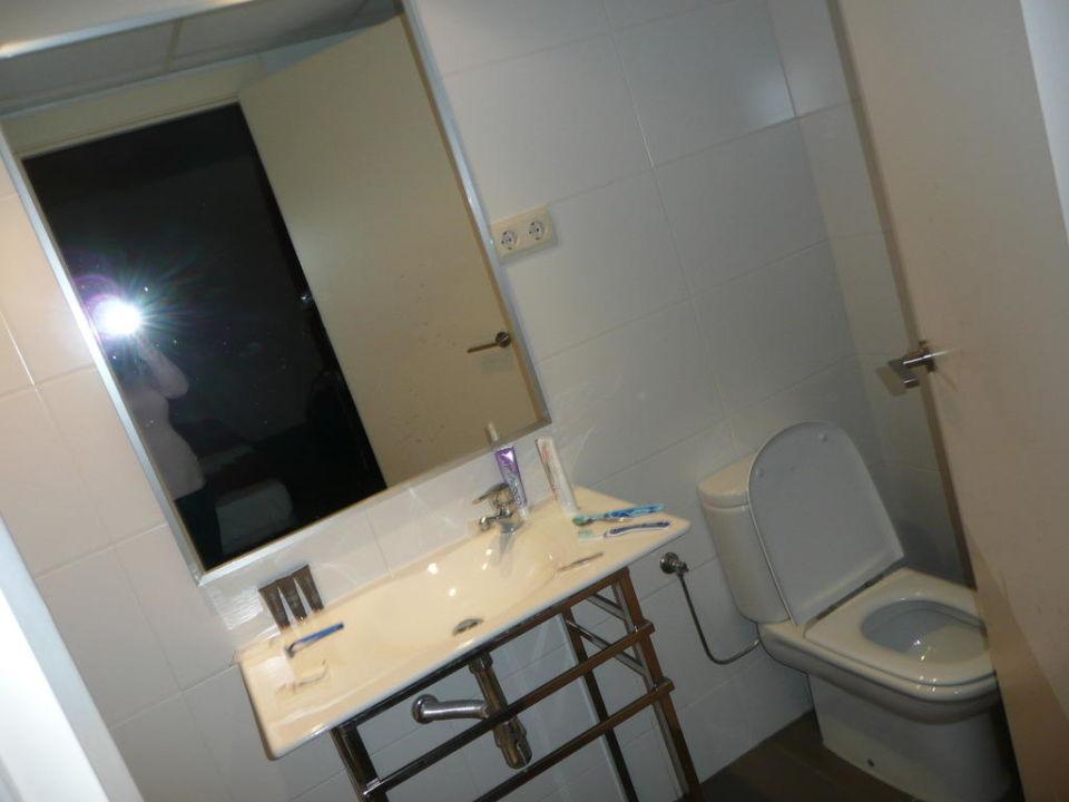 Łazienka - standard Residència Erasmus