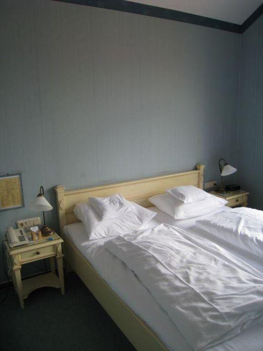 abgeteilter Schlafbereich Romantik Hotel Zum Stern