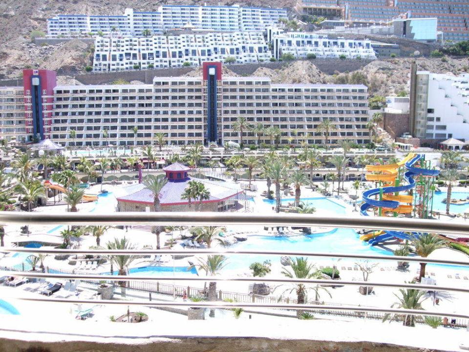 Blick vom Balkon Hotel Paradise Valle Taurito