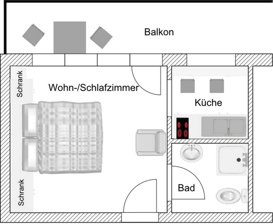 Lovely Grundriss App  3  Gästehaus Wolfgang