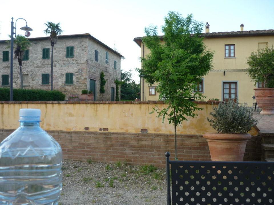 Blick aufs Haupthaus Hotel Agriturismo Fattoria Rozzalupi
