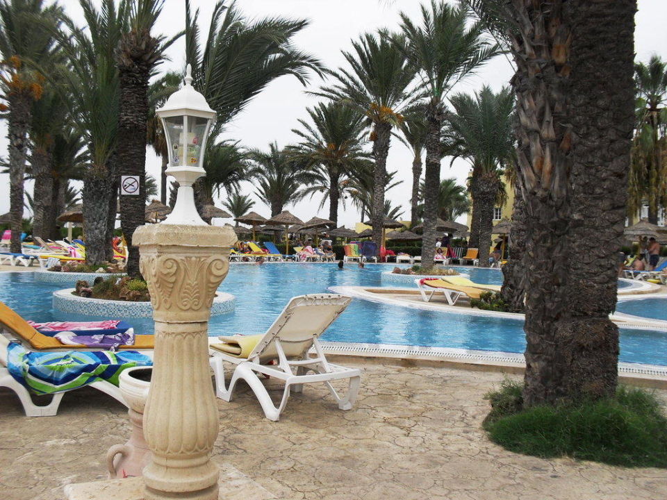 Piscine  Hotel Houda Golf & Beach Club
