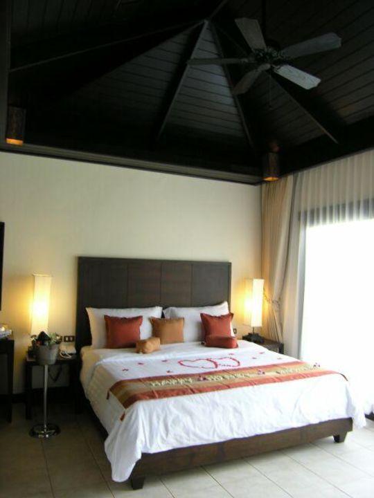 Koh Samui, Bo Phut Beach, Bandara Resort & Spa - Bett im Vil Bandara Resort & Spa Samui