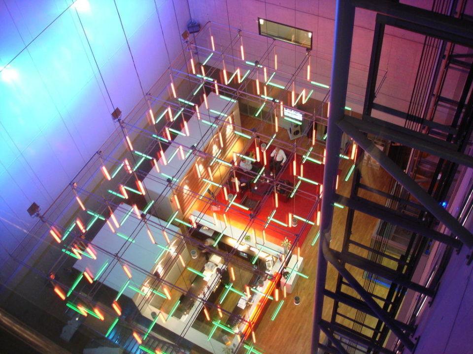 Lobby INNSIDE by Meliá Frankfurt Niederrad