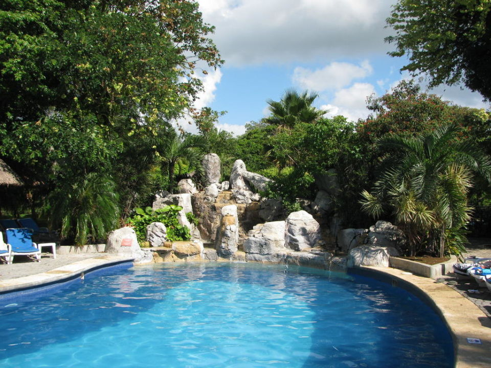 Wasserfall Am Pool ClubHotel Riu Tequila