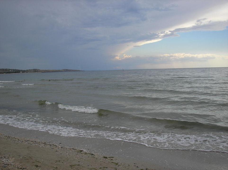 Пляж отеля Pension Domik u Morja