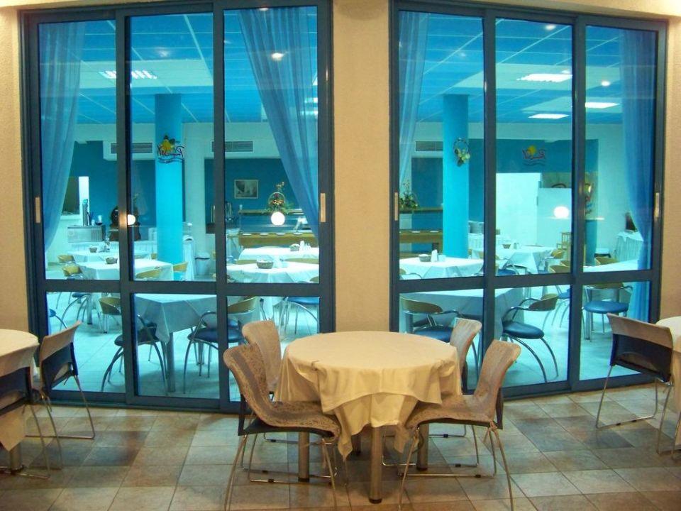 Blick in das Restaurant Sineva Park