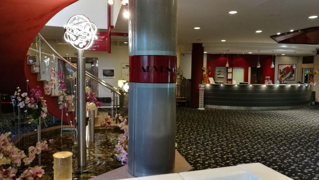 Lobby Hotel Arvena Park