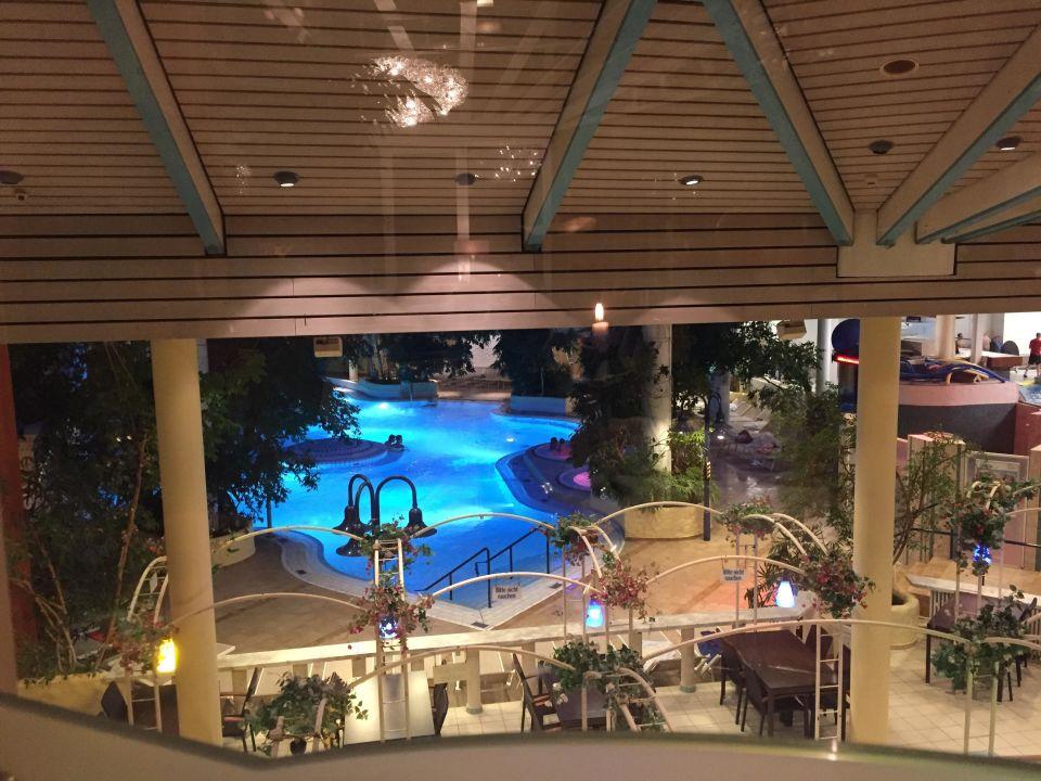 Aussicht Vom Restaurant Hotel Vital Hotel Bad Lippspringe
