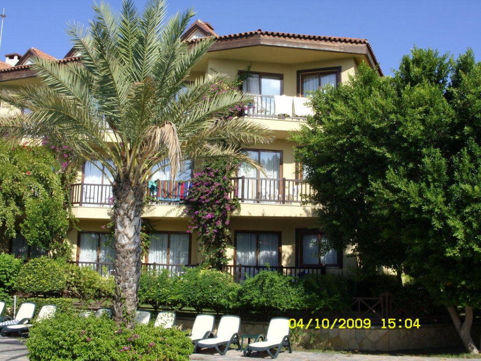 Blick zum Zimmer Hotel Alba Resort