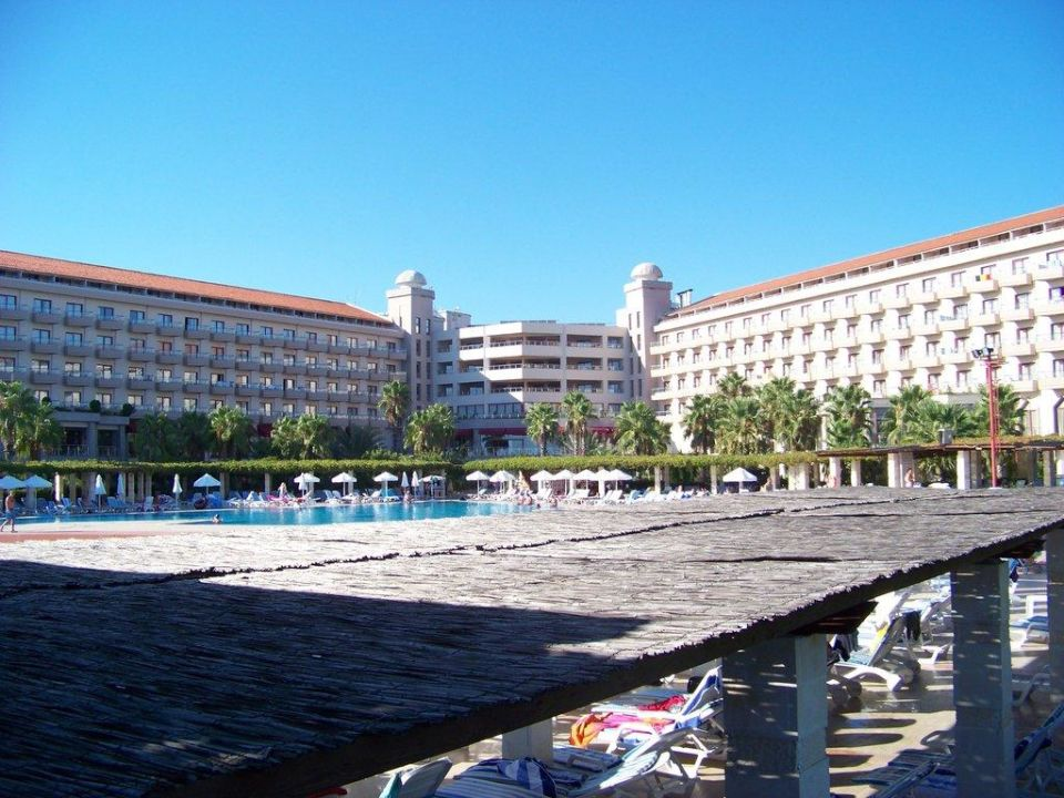 Blick von der Poolbar  Kaya Belek Hotel