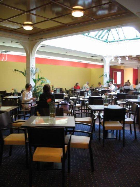 Breakfast buffet on the corridor Austria Trend Hotel Ananas