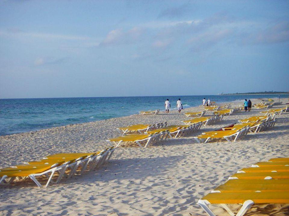 Strand am Morgen IBEROSTAR Hotel Paraiso Beach