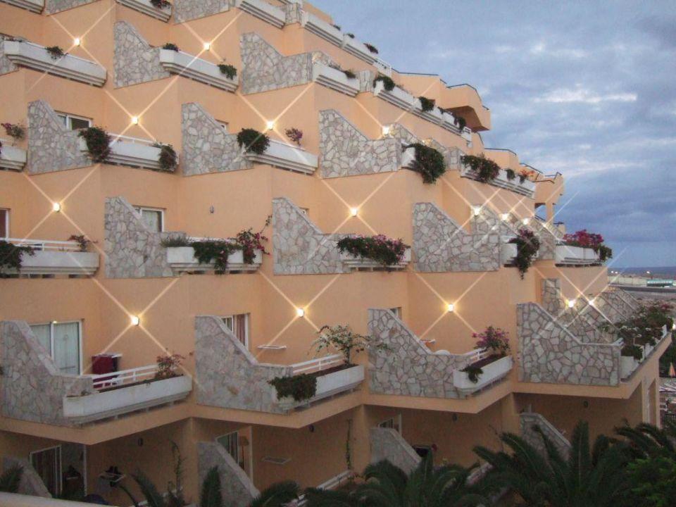 Balkone des Nautilus-Hotels SBH Costa Calma Beach Resort