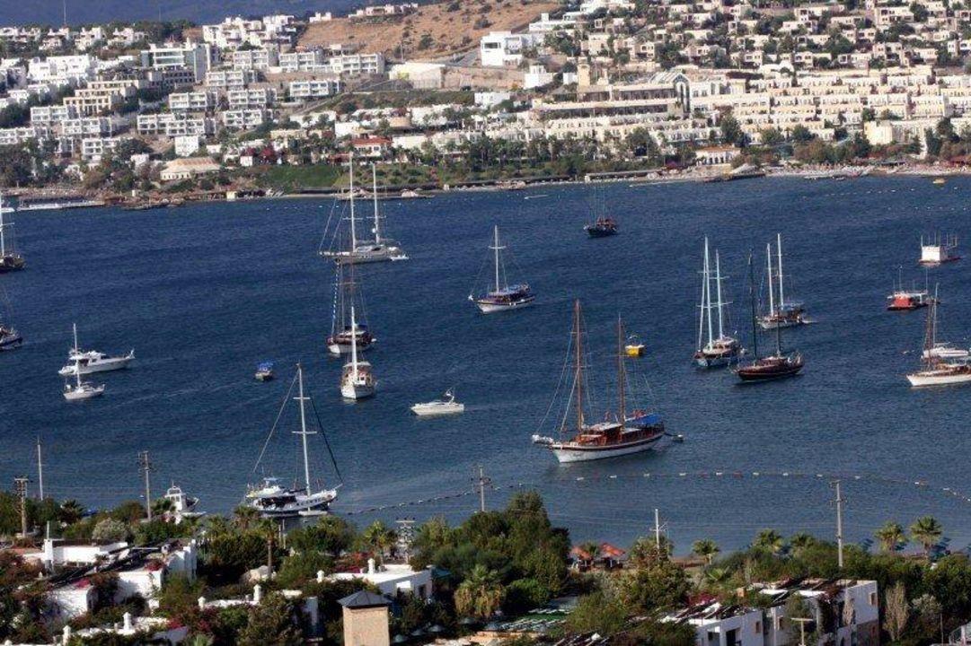 Die Bucht des Hotels Hotel Eken Resort