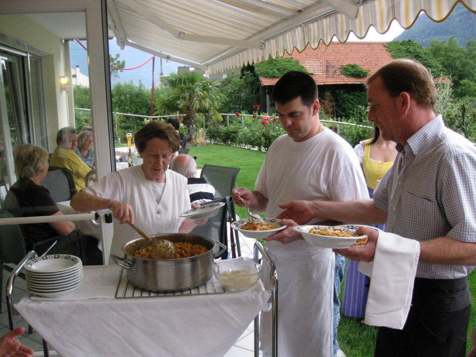 Abendessen Hotel-Pension Flora