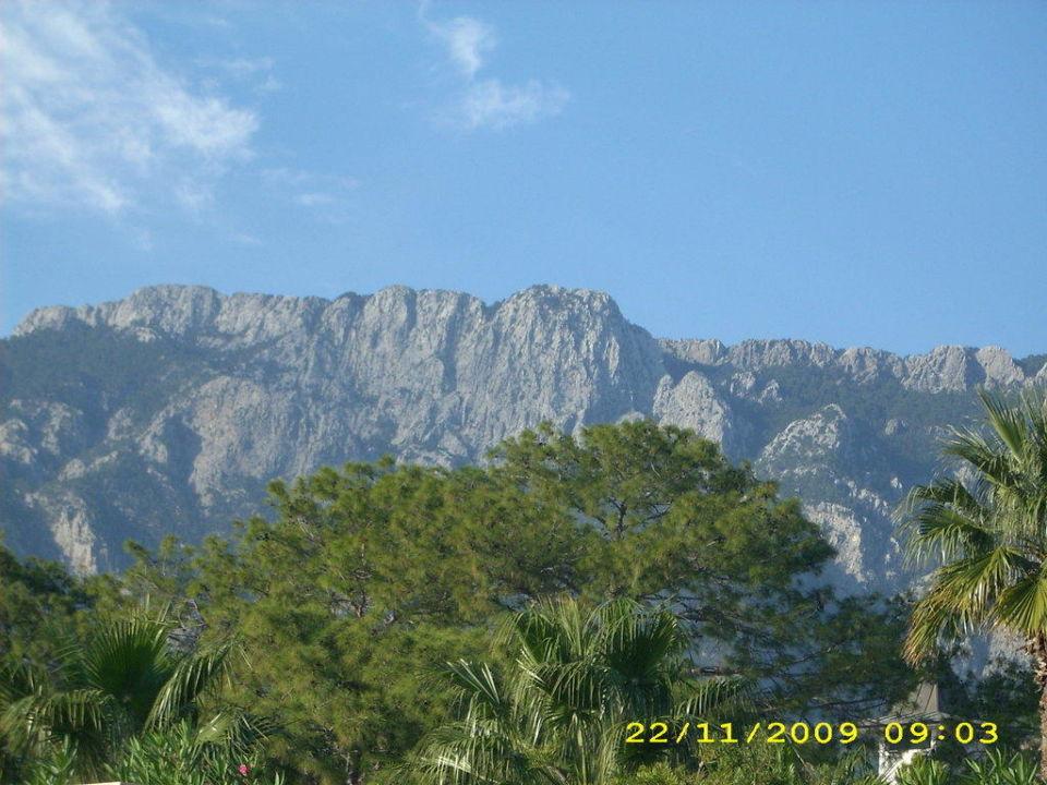 Blick in die Berge Kilikya Palace Göynük