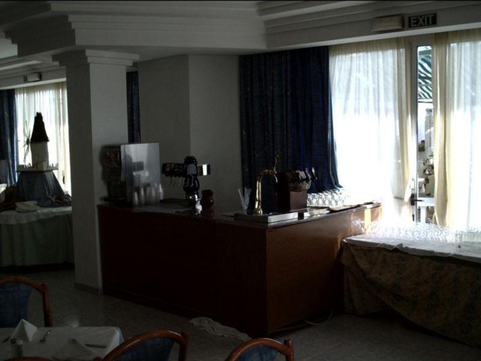 Getränketheke. i. Speisesaal. v. Hotel von  M.Kurowski allsun Hotel Mariant Park